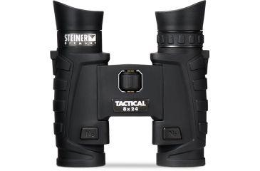 Steiner 8x24 T24 Tactical Binoculars, Charcoal 6502