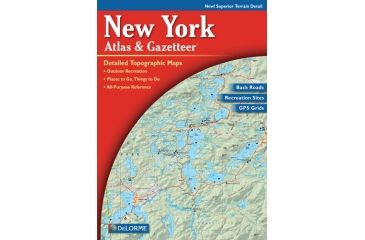 New York Atlas, Publisher - Delorme