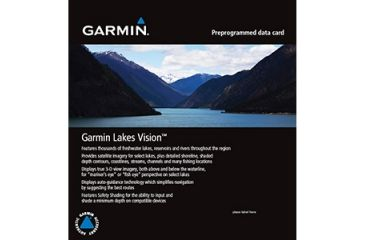 Garmin 010 C1076 00 Lakes Vision Map Northeast