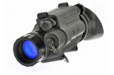 NG PVS14 Ghost MG Gen 3 Multi-Purpose Night Vision Monocular Ghost White Phosphor with Manual Gain, Black NGPVS143G