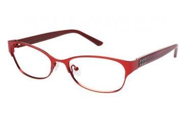 Nicole Miller ANN Progressive Prescription Eyeglasses - Frame Red, Size 52/16mm NMANN03