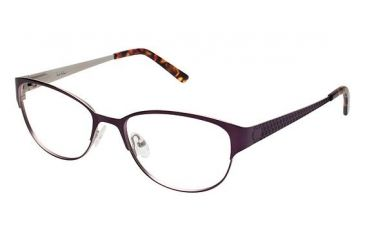 Nicole Miller BOND Bifocal Prescription Eyeglasses - Frame Wisteria, Size 51/16mm NMBOND02