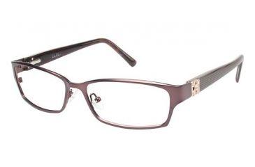 Nicole Miller Bowery Progressive Prescription Eyeglasses - Frame Matte Espresso/Espresso, Size 53/15mm NMBOWERY01