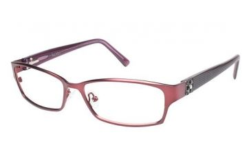 Nicole Miller Bowery Progressive Prescription Eyeglasses - Frame Nude Rose/Rose, Size 53/15mm NMBOWERY02