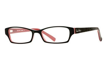 Nicole Miller Bungalow SENM BUNG00 Progressive Prescription Eyeglasses - Black Magic SENM BUNG005140 BK
