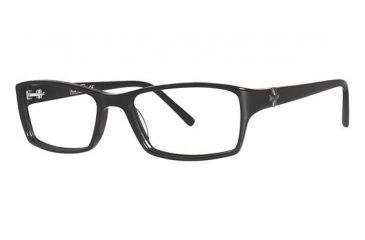 Nicole Miller Carmine Eyeglass Frames - Frame Black, Size 53/16mm NMCARMINE01