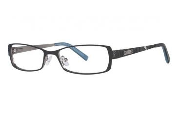 739e79482ac Nicole Miller Charlton Eyeglass Frames - Frame Matte Black