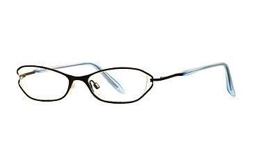 Nicole Miller Chintz SENM CHIZ00 Progressive Prescription Eyeglasses - Baby Black SENM CHIZ005135 BK