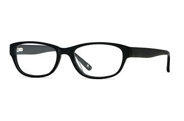 Nicole Miller Collection NL At First Sight SENL ATFI00 Eyeglass Frames - Black SENL ATFI005235 BK