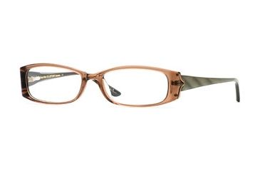 Nicole Miller Collection NL Bellisima SENL BELL00 Progressive Prescription Eyeglasses - Mink SENL BELL005235 BN