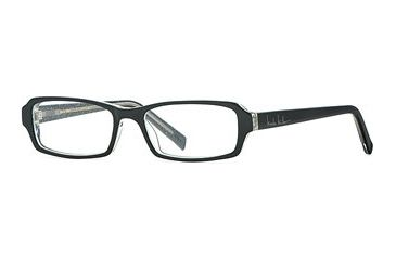 Nicole Miller Collection NL Etoile SENL ETOI00 Single Vision Prescription Eyewear - Onyx SENL ETOI005035 BK