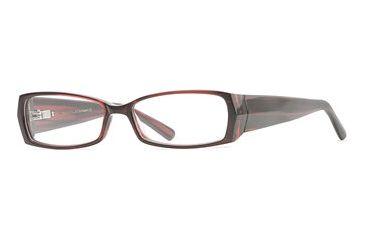 Nicole Miller Collection NL Kashmir SENL KASH00 Eyeglass Frames - Raspberry SENL KASH005240 BUR