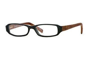 Nicole Miller Collection NL Ooh La La SENL OOHL00 Progressive Prescription Eyeglasses - Black SENL OOHL004940 BK