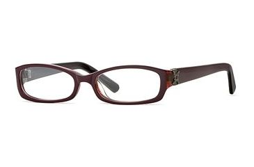 Nicole Miller Collection NL Wine Not SENL WINE00 Eyeglass Frames - Blackberry SENL WINE005040 BK