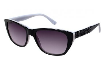 Nicole Miller HOLLAND Sunglasses - Frame Black, Size 53/16mm NMHOLLAND01