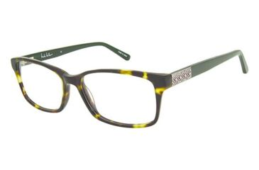102a431c385 Nicole Miller Jett Eyeglass Frames - Frame OLIVE TORTOISE