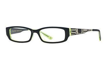 Nicole Miller Modern Girl SENM MODE00 Single Vision Prescription Eyewear - Navy Lime SENM MODE005035 BL