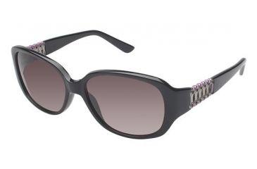 Nicole Miller Ridge Progressive Prescription Sunglasses NMRIDGE01 - Frame Color Black