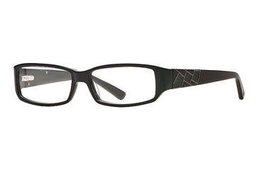 Nicole Miller Synthes-Eyes SENM SYNT00 Progressive Prescription Eyeglasses - Black SENM SYNT005435 BK