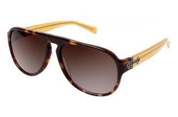 Nicole Miller Tudor Sunglasses - Frame TORTOISE, Size 58/15mm NMTUDOR02