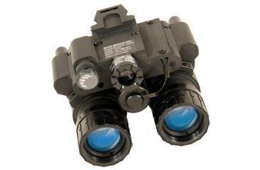 Night Optics BNVD-15 Generation 3 Gated Dual-Tube Night Vision Goggle, Black NG-P15-3GM