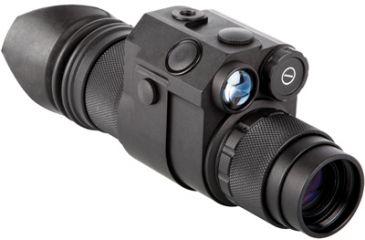 Night Optics D-350 Generation 2+ Black and White Night Vision Monocular, Black NM-350-2BW