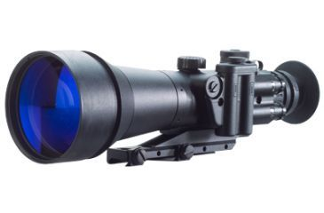 Night Optics D-760 6x Generation 2+ High Performance Night Vision Weapon Sight, Black NS-760-2H