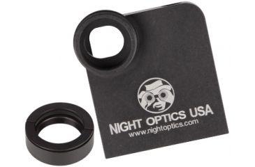 Night Optics iPhone 4/5 Adaptor for PVS-14/7, Black CAM-IP14K
