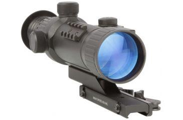 Night Optics NS-520 2.8x Generation 2+ Night Vision Scope, Black NS-520-2S