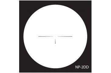 NightForce 12-42x56mm NXS Illuminated Reticle Riflescope - NP-2DD Reticle