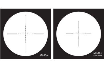 NightForce 8-32x56mm NXS Illuminated Reticle Rifle Scopes - MIL-DOT Reticle