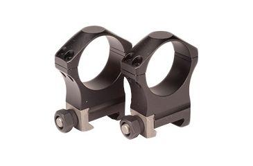 Nightforce Ring Set - 1.00 Medium - 34mm - Ultralite™, 4 Bolt, Black, 1 A223