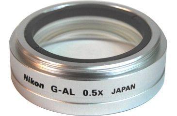 Nikon Microscope G O.5X Auxillary Objective MMH31050