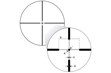 Nikon M223 Point Blank reticle