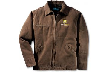 Nikon Pro Gear Men's Field Recon Canvas Quilted Jacket-Tan F09023-93