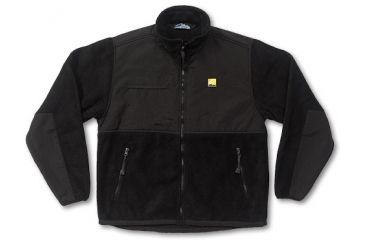 Nikon Pro Gear Men's Nylon/Fleece Jacket-Black F09012-02