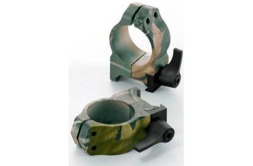 Nikon REALTREE Hardwoods Green HD Camo Medium Quick Release Rings 8183