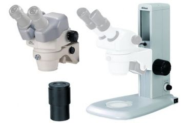 SMZ-745 Zoom Stereomicroscope w/ C10X Widefield Eyepiece and C-PS Plain Focusing Stand