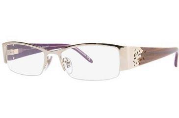 Nina Ricci NR2254 Progressive Prescription Eyeglasses - Frame Gold, Size 52/17mm NR2254F01