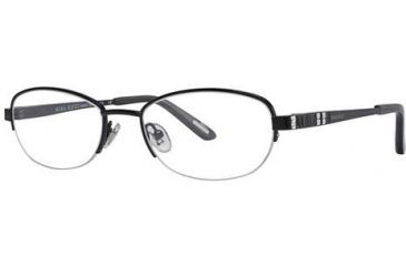 Nina Ricci NR2260F Progressive Prescription Eyeglasses - Frame Black, Size 51/18mm NR2260F01