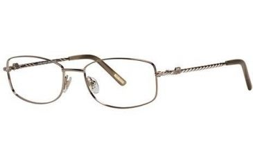 Nina Ricci NR2278F Single Vision Prescription Eyeglasses - Frame Gold, Size 53/17mm NR2278F01