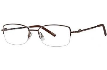 Nina Ricci NR2279F Progressive Prescription Eyeglasses - Frame Brown, Size 52/18mm NR2279F02