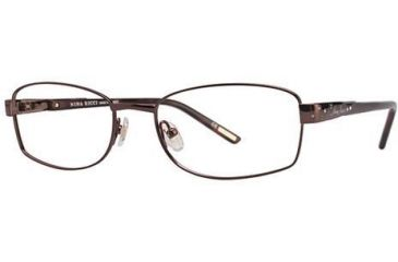 Nina Ricci NR2292F Single Vision Prescription Eyeglasses - Frame Brown, Size 54/18mm NR2292F01