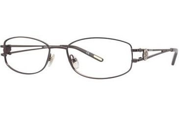 Nina Ricci NR2294 Progressive Prescription Eyeglasses - Frame Chocolate NR2294F02