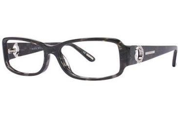 Nina Ricci NR2557F Progressive Prescription Eyeglasses - Frame Black, Size 53/14mm NR2557F01