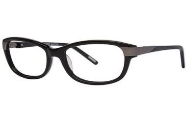 Nina Ricci NR2570F Single Vision Prescription Eyeglasses - Frame Black, Size 53/16mm NR2570F01