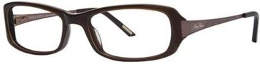 Nina Ricci NR2571F Single Vision Prescription Eyeglasses - Frame Brown, Size 53/17mm NR2571F03