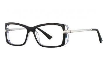 Nina Ricci NR2717 Single Vision Prescription Eyeglasses - Frame Black, Size 53/15mm NR2717F01