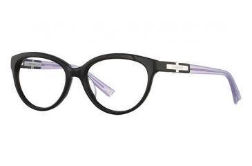 Nina Ricci NR2725 Single Vision Prescription Eyeglasses - Frame Black/Lilas, Size 53/16mm NR2725F01