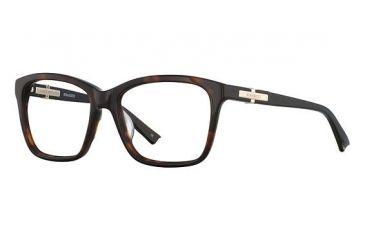 Nina Ricci NR2726 Single Vision Prescription Eyeglasses - Frame Tortoise/Black, Size 54/16mm NR2726F03